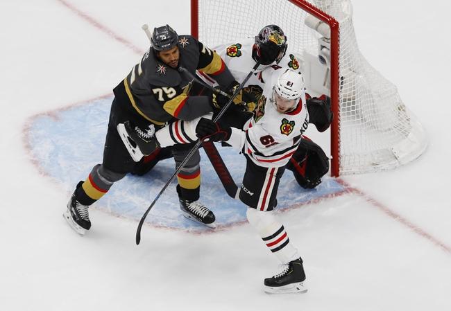 Chicago Blackhawks at Vegas Golden Knights - 8/13/20 NHL Picks and Prediction