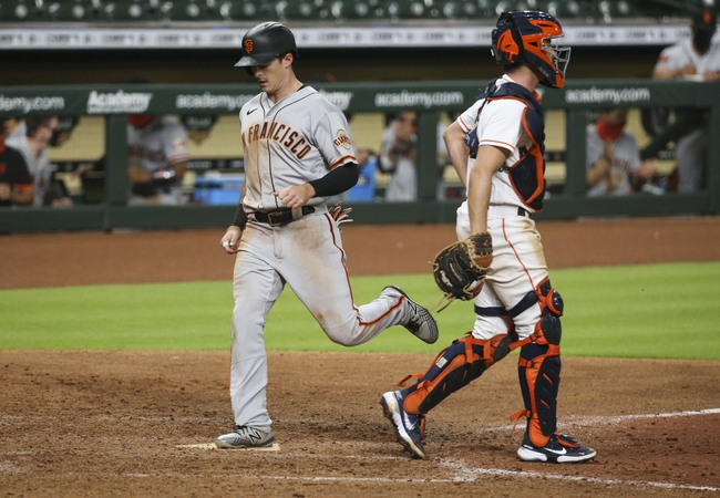 Houston Astros vs. San Francisco Giants - 8/12/20 MLB Pick, Odds, and Prediction
