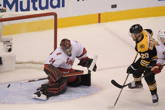 Carolina Hurricanes at Boston Bruins - 8/13/20 NHL Picks and Prediction