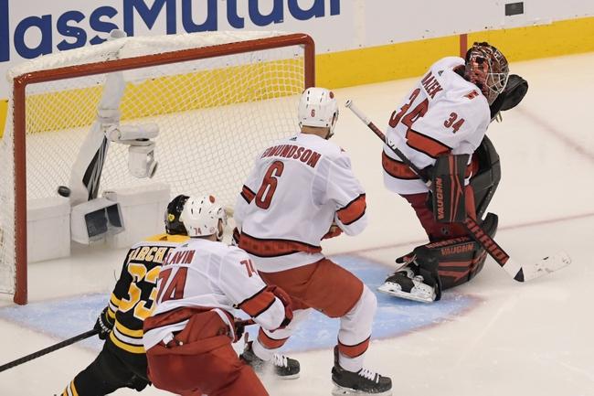 Boston Bruins vs. Carolina Hurricanes - 8/13/20 NHL Pick, Odds, and Prediction
