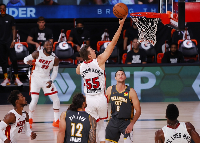 Indiana Pacers at Miami Heat - 8/22/20 NBA Picks and Prediction