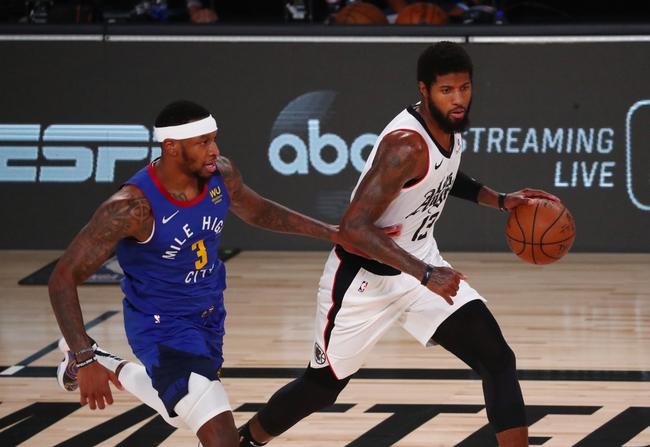 Denver Nuggets at Los Angeles Clippers - 9/3/20 NBA Picks and Prediction