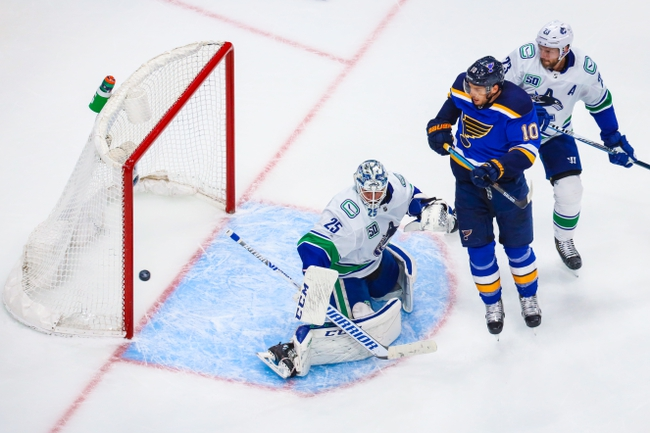 St. Louis Blues vs. Vancouver Canucks - 8/14/20 NHL Pick, Odds, and Prediction