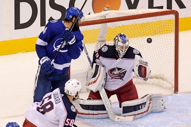 Columbus Blue Jackets vs. Tampa Bay Lightning - 8/15/20 NHL Pick, Odds, and Prediction