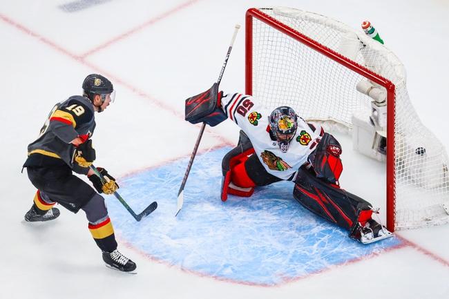 Chicago Blackhawks vs. Vegas Golden Knights - 8/15/20 NHL Pick, Odds, and Prediction