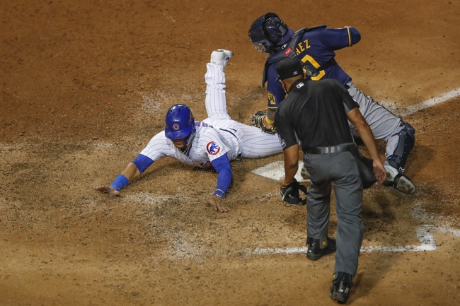 Chicago Cubs vs. Milwaukee Brewers - 8/14/20 MLB Pick, Odds, and Prediction