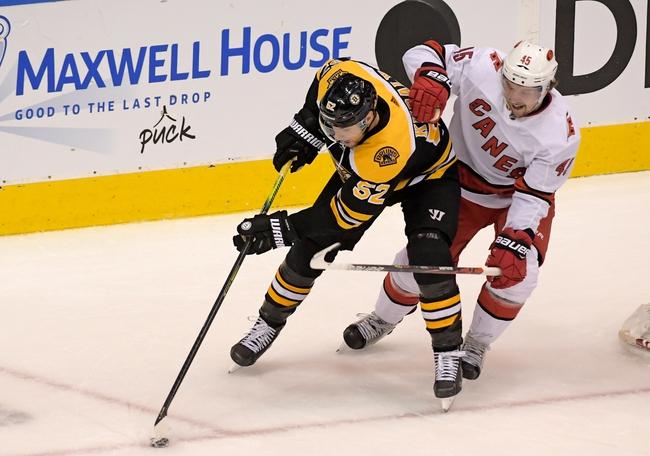 Carolina Hurricanes vs. Boston Bruins - 8/15/20 NHL Pick, Odds, and Prediction