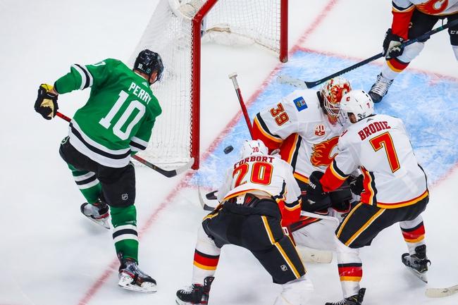 Dallas Stars at Calgary Flames - 8/14/20 NHL Picks and Prediction