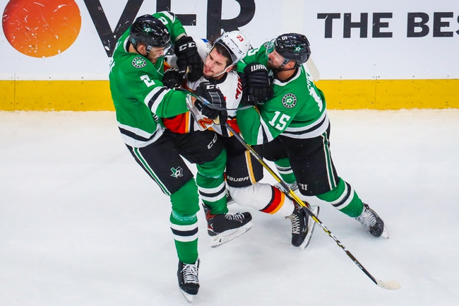 Calgary Flames vs. Dallas Stars - 8/14/20 NHL Pick, Odds, and Prediction