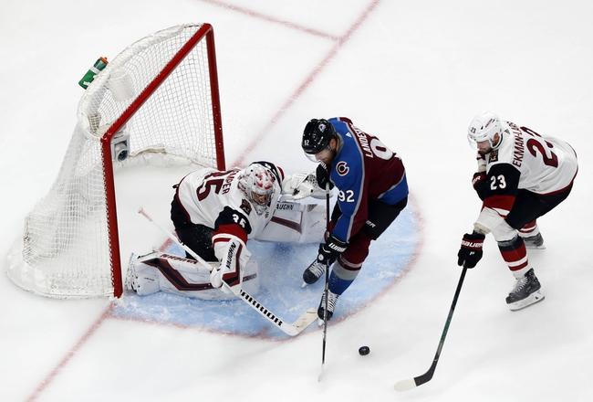 Arizona Coyotes vs. Colorado Avalanche - 8/15/20 NHL Pick, Odds, and Prediction