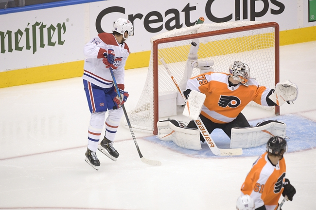Montreal Canadiens vs. Philadelphia Flyers - 8/16/20 NHL Pick, Odds, and Prediction