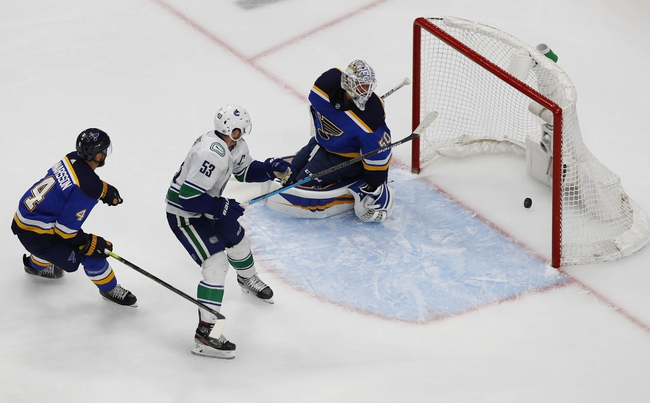 Vancouver Canucks vs. St. Louis Blues - 8/16/20 NHL Pick, Odds, and Prediction