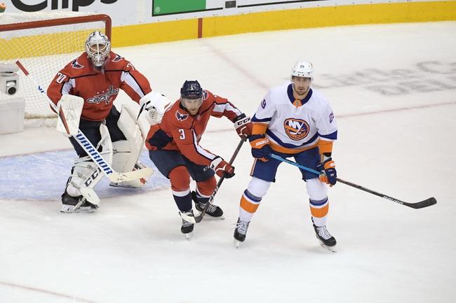 Washington Capitals at New York Islanders - 8/16/20 NHL Picks and Prediction