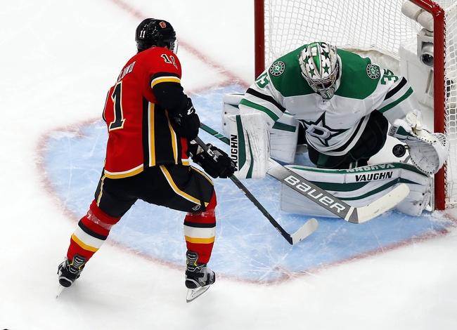 Dallas Stars at Calgary Flames - 8/16/20 NHL Picks and Prediction
