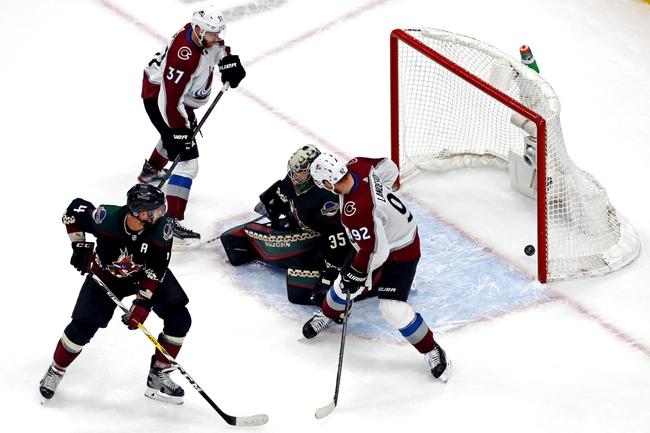 Colorado Avalanche at Arizona Coyotes - 8/17/20 NHL Picks and Prediction