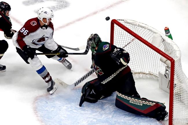 Arizona Coyotes vs. Colorado Avalanche - 8/17/20 NHL Pick, Odds, and Prediction