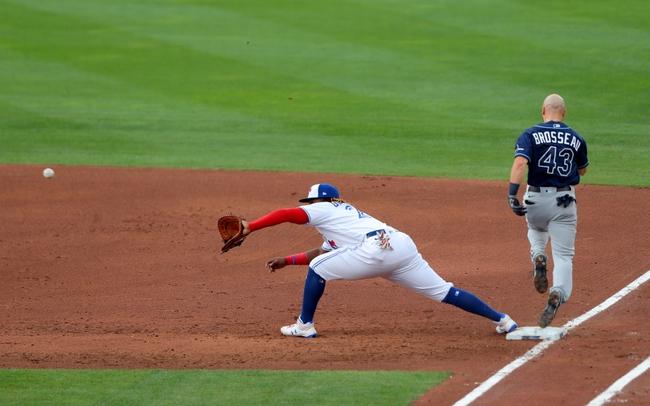 Toronto Blue Jays vs. Tampa Bay Rays - 8/16/20 MLB Pick, Odds, and Prediction