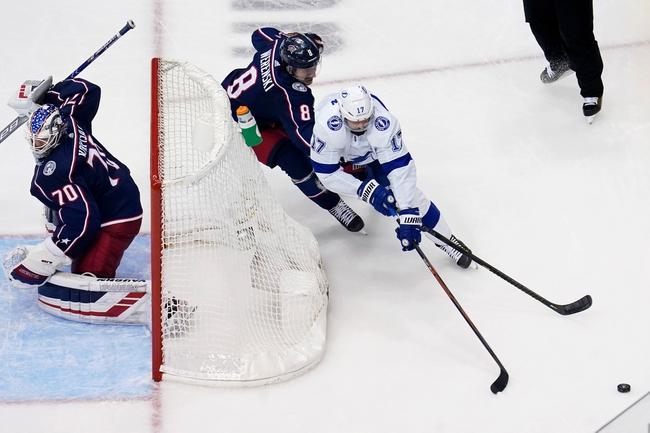 Columbus Blue Jackets vs. Tampa Bay Lightning - 8/17/20 NHL Pick, Odds, and Prediction