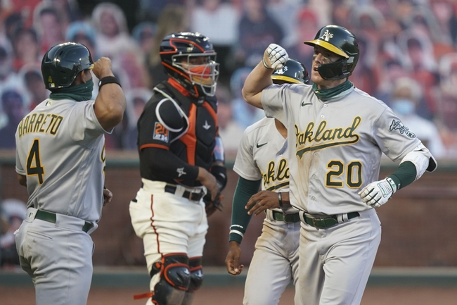 San Francisco Giants vs. Oakland Athletics - 8/16/20 MLB Pick, Odds, and Prediction