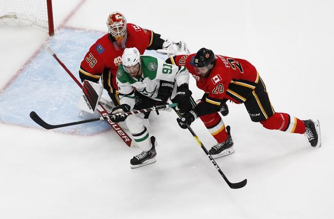 Dallas Stars vs. Calgary Flames - 8/18/20 NHL Pick, Odds, and Prediction