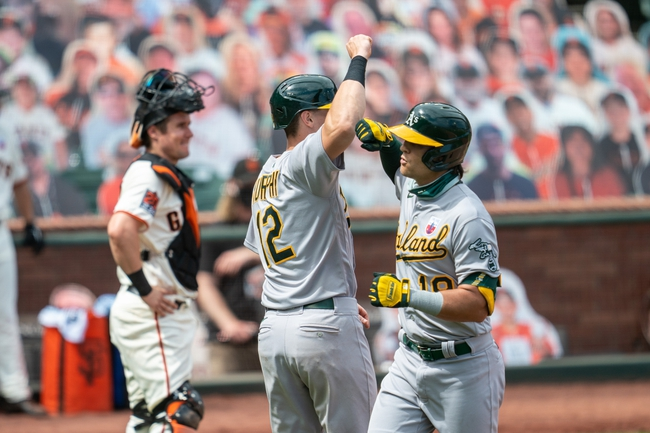 San Francisco Giants at Oakland Athletics - 9/18/20 MLB Picks and Prediction