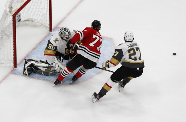 Vegas Golden Knights vs. Chicago Blackhawks - 8/18/20 NHL Pick, Odds, and Prediction