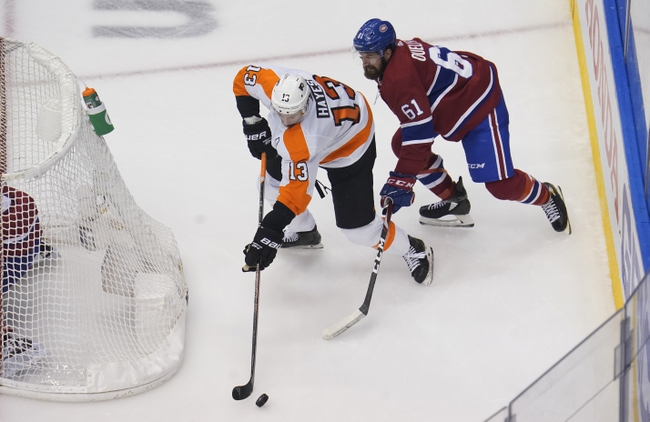 Philadelphia Flyers at Montreal Canadiens - 8/18/20 NHL Picks and Prediction