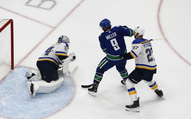 Vancouver Canucks vs. St. Louis Blues - 8/17/20 NHL Pick, Odds, and Prediction