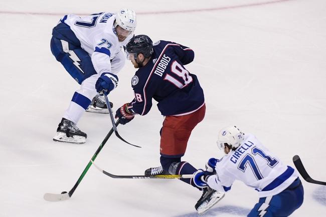Columbus Blue Jackets at Tampa Bay Lightning - 8/19/20 NHL Picks and Prediction