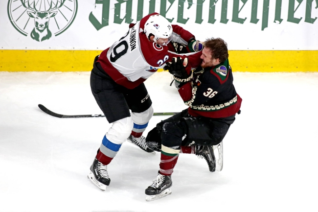 Colorado Avalanche vs. Arizona Coyotes - 8/19/20 NHL Pick, Odds, and Prediction