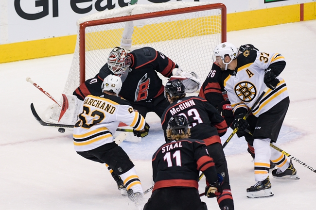Boston Bruins vs. Carolina Hurricanes - 8/19/20 NHL Pick, Odds, and Prediction