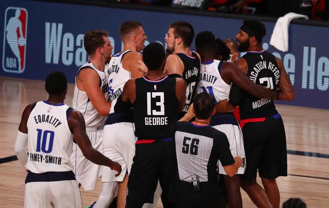 Dallas Mavericks at Los Angeles Clippers - 8/19/20 NBA Picks and Prediction
