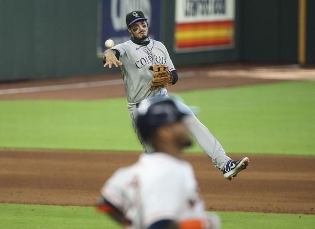 Colorado Rockies vs. Houston Astros - 8/19/20 MLB Pick, Odds, and Prediction