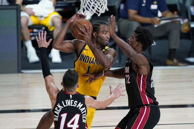 Miami Heat vs. Indiana Pacers - 8/22/20 NBA Pick, Odds, and Prediction