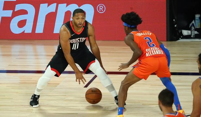 Oklahoma City Thunder at Houston Rockets - 8/20/20 NBA Picks and Prediction