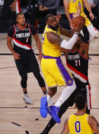 Tony T's Trailblazers vs. Lakers ATS SIDE 8-20-2020
