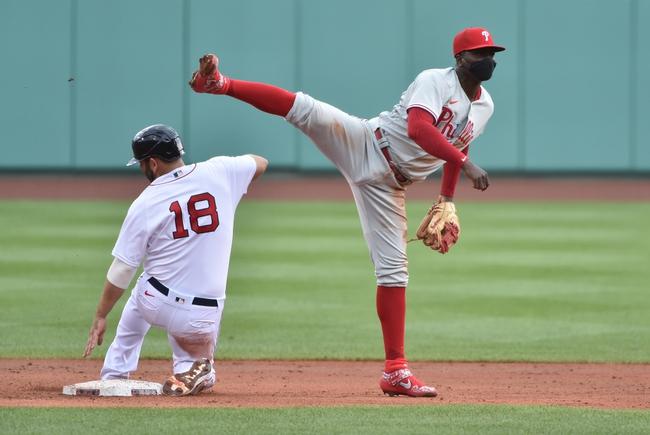 Boston Red Sox at Philadelphia Phillies Game 2 - 9/8/20 MLB Picks and Prediction