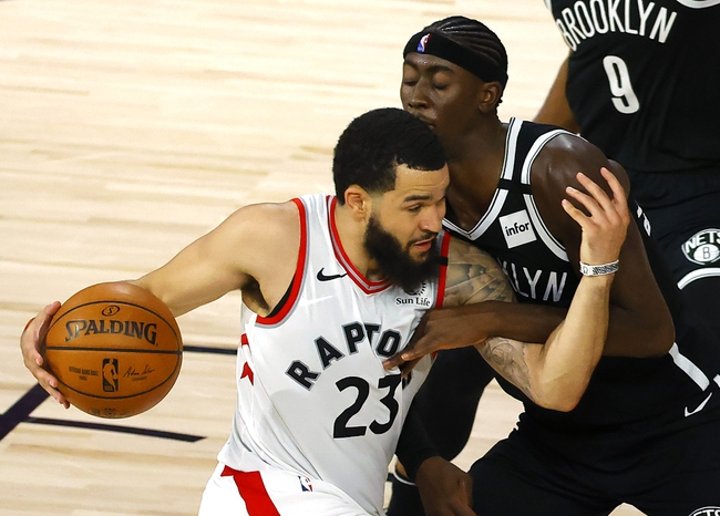 Brooklyn Nets vs. Toronto Raptors - 8/21/20 NBA Pick, Odds, and Prediction
