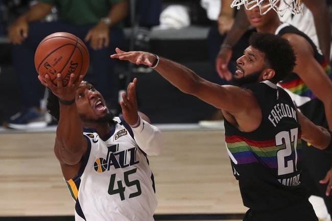 Denver Nuggets at Utah Jazz - 8/21/20 NBA Picks and Prediction