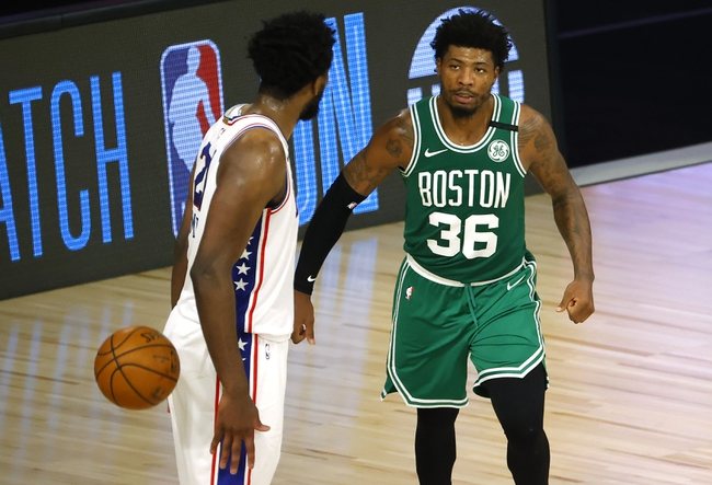 Boston Celtics at Philadelphia 76ers - 8/21/20 NBA Picks and Prediction
