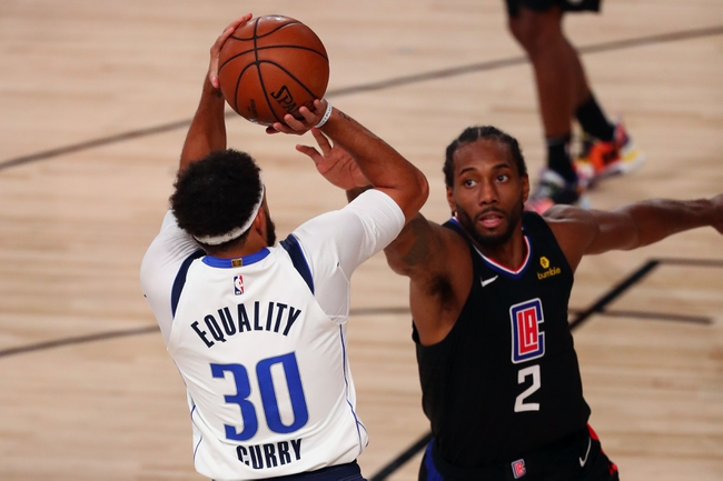 Los Angeles Clippers at Dallas Mavericks - 8/21/20 NBA Picks and Prediction