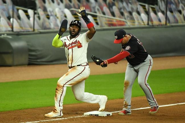 Atlanta Braves vs. Washington Nationals Game 1 - 9/4/20 MLB Pick, Odds, and Prediction