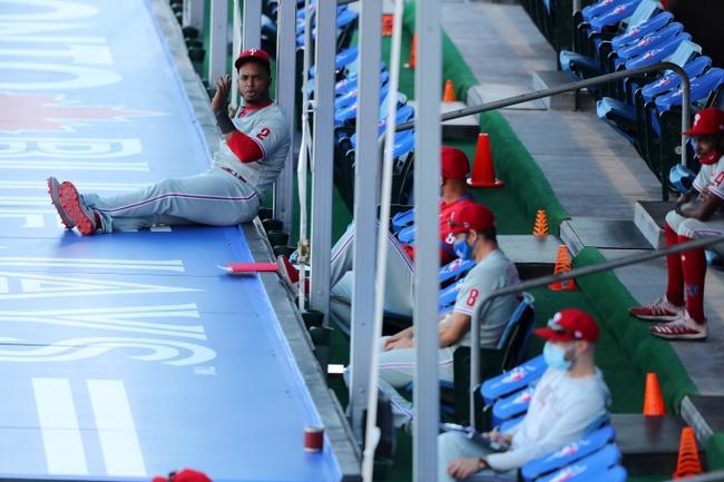Dana Lane's Philadelphia Phillies vs Toronto Blue Jays-Game One 'Table Setter'
