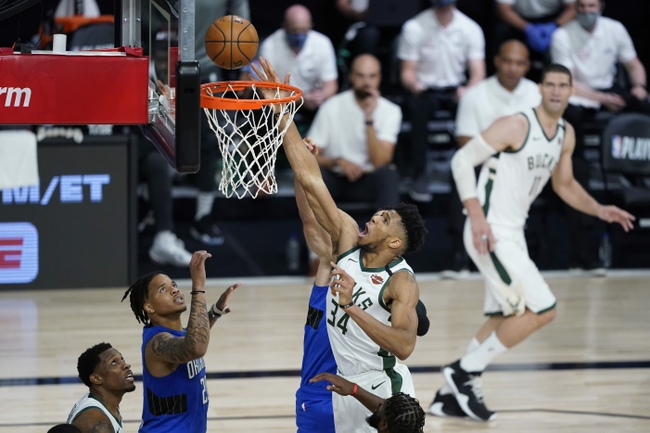 Orlando Magic vs. Milwaukee Bucks - 8/22/20 NBA Pick, Odds, and Prediction