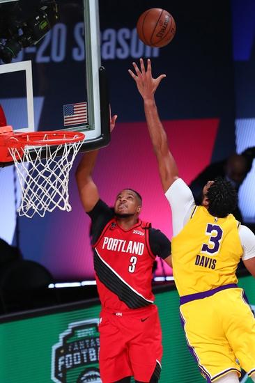 Tony T's Lakers vs. Trailblazers Total 8-22-2020