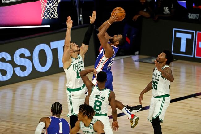 Boston Celtics at Philadelphia 76ers - 8/23/20 NBA Picks and Prediction