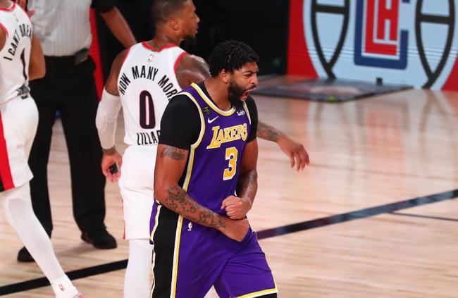 Tony T's Lakers vs. Trailblazers TOTAL 8-24-2020