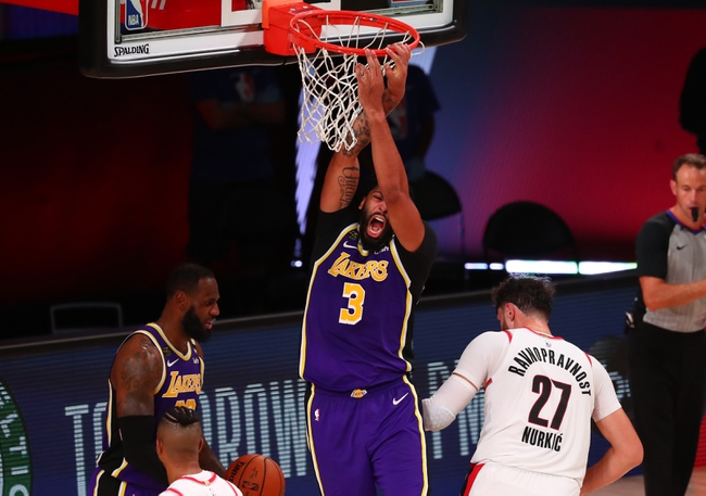 Portland Trail Blazers Vs Los Angeles Lakers 8 24 20 Nba Pick Odds And Prediction Sports Chat Place