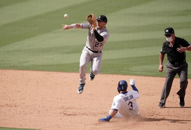 Dana Lane's Colorado Rockies vs Los Angeles Dodgers 'Get-Out' Game