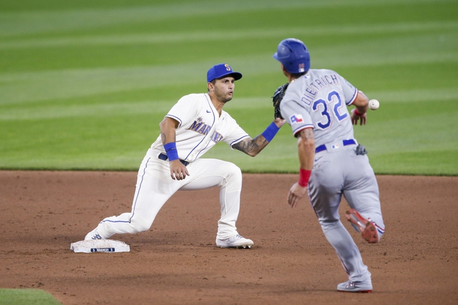Seattle Mariners vs. Texas Rangers - 9/5/20 MLB Pick, Odds, and Prediction